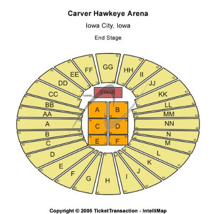 Iowa City Basketball Tickets