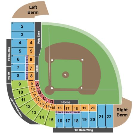 Cashman field tickets and cashman field seating chart buy cashman