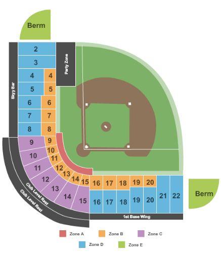 Cashman field tickets and cashman field seating chart buy cashman