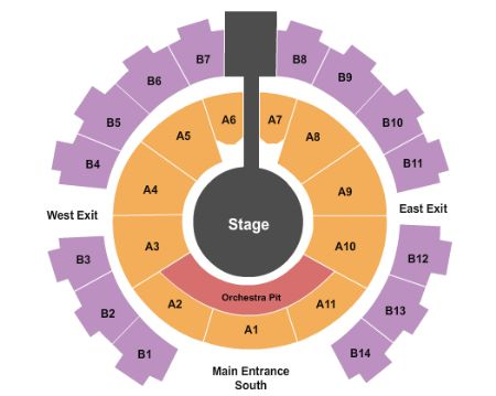 Celebrity theatre tickets and celebrity theatre seating chart buy