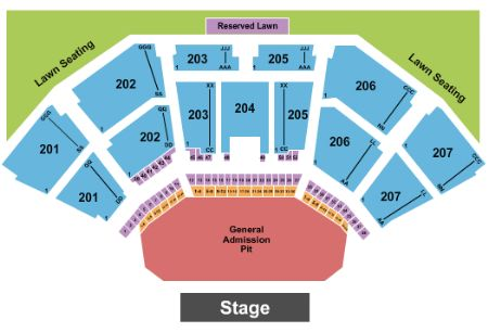 Lakewood amphitheatre tickets and lakewood amphitheatre seating