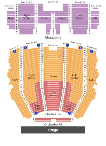 Centennial hall tickets and centennial hall seating chart buy
