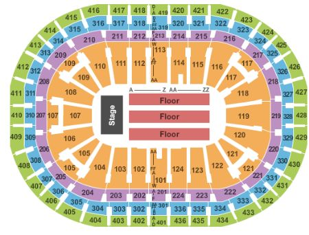 Centre Bell Tickets And Centre Bell Seating Chart Buy