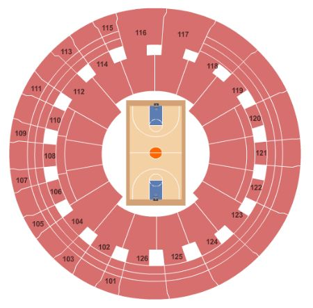 Charles Koch Arena Tickets And Charles Koch Arena Seating Chart