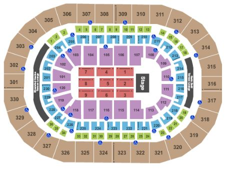 Chesapeake Energy Arena Tickets And Chesapeake Energy