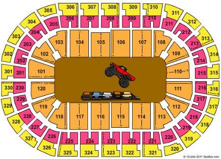 Chesapeake Energy Arena Tickets and Chesapeake Energy Arena Seating on