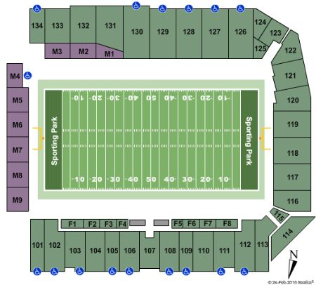 Sporting park tickets and sporting park seating chart buy sporting