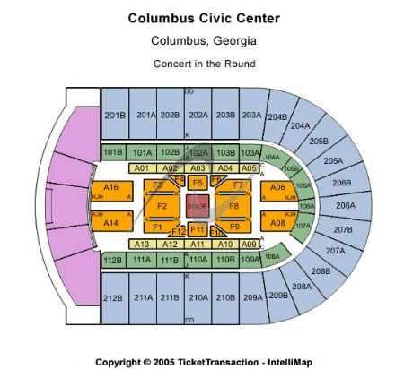 Columbus civic center tickets and columbus civic center seating