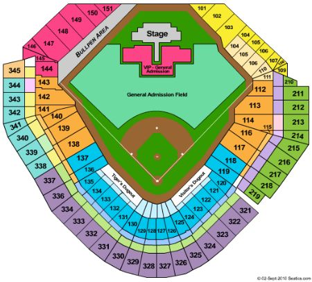 Comerica Park Tickets and Comerica Park Seating Chart - Buy ...