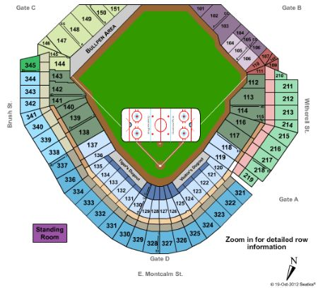 Comerica park tickets and comerica park seating chart buy