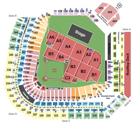 Coors Field Tickets And Coors Field Seating Chart Buy Coors Field