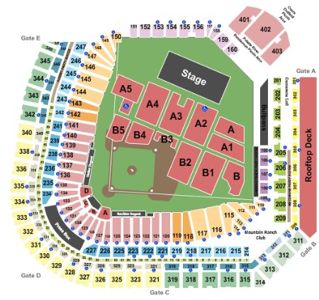 Coors Field Tickets And Coors Field Seating Chart Buy