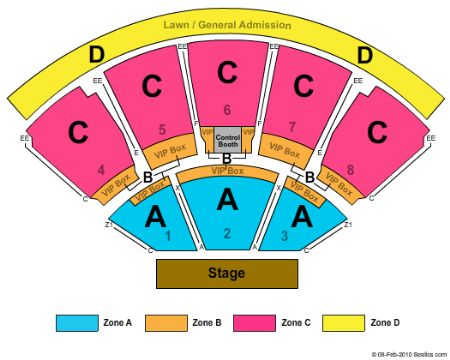 West Palm Amphitheatre Seating Chart Brokeasshome Com