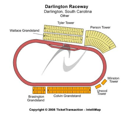 Darlington raceway tickets and darlington raceway seating chart