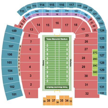 Darrell k royal memorial stadium tickets and darrell k royal