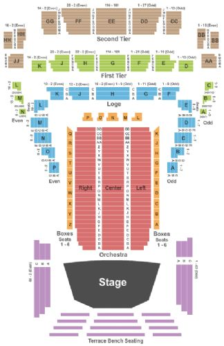 Davies symphony hall tickets and davies symphony hall seating chart
