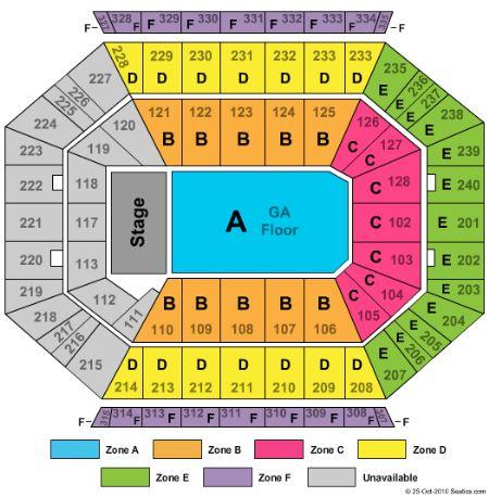 Dcu center tickets and dcu center seating chart buy dcu center