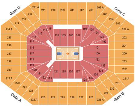 Dean e smith center tickets and dean e smith center seating