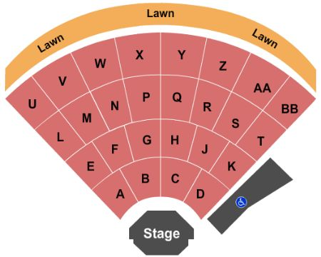 Dell Music Center Tickets And Dell Music Center Seating