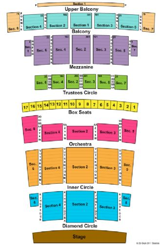 Detroit opera house tickets and detroit opera house seating chart