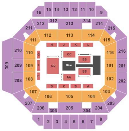 Diddle Arena Tickets and Diddle Arena Seating Chart - Buy ...