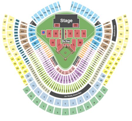 Tickets And Dodger Stadium Seating