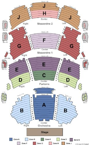 Dolby theatre tickets and dolby theatre seating chart buy dolby
