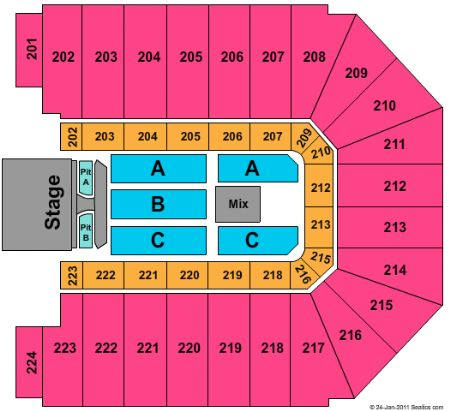 Ej nutter center tickets and ej nutter center seating chart buy ej