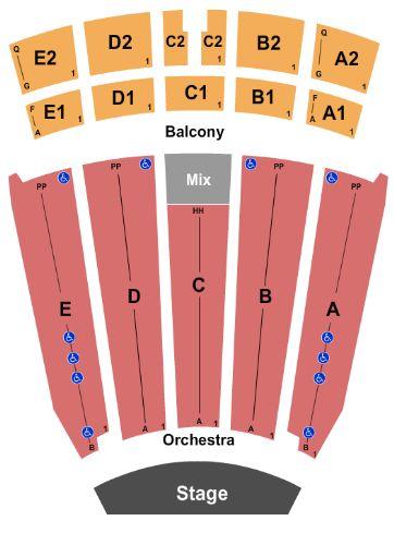 Emens auditorium tickets and emens auditorium seating chart buy