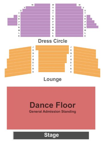 Enmore Theatre Seating Map Enmore Theatre Tickets and Enmore Theatre Seating Chart   Buy  Enmore Theatre Seating Map