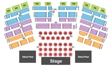 Entertainment hall at soaring eagle casino resort tickets and