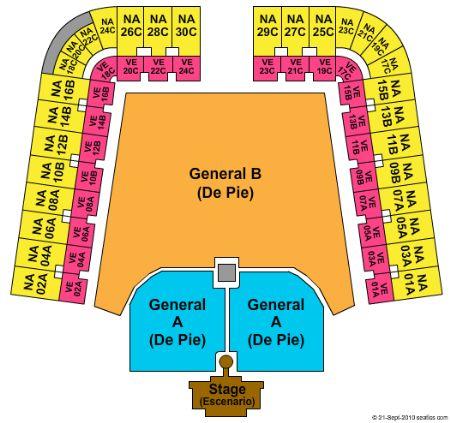 Estadio Foro Sol Tickets and Estadio Foro Sol Seating Chart