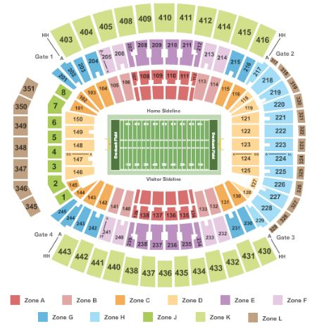 Everbank Field Concert Seating Chart