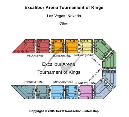 Excalibur Arena Excalibur Hotel Casino Tickets and Excalibur