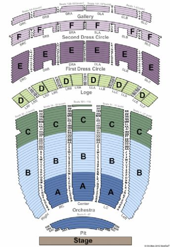 Fabulous Fox Theatre Tickets And Fabulous Fox Theatre Seating Chart