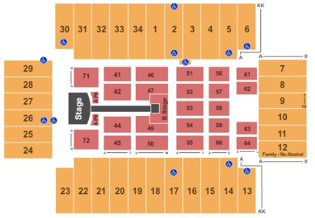 Fargodome Tickets And Fargodome Seating Chart Buy Fargodome Fargo Tickets Nd At Stub Com
