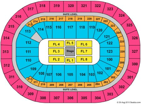 Hsbc arena seating chart with row numbers hsbc arena seating