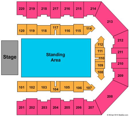 Sheffield Arena Tickets And Sheffield Arena Seating Chart
