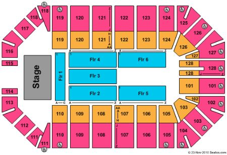 Ford park arena tickets and ford park arena seating chart buy ford