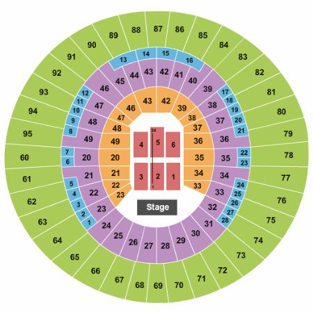 Frank erwin center tickets and frank erwin center seating chart