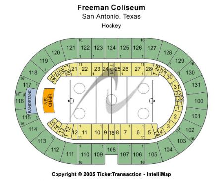 Freeman Coliseum Tickets And Freeman Coliseum Seating Chart