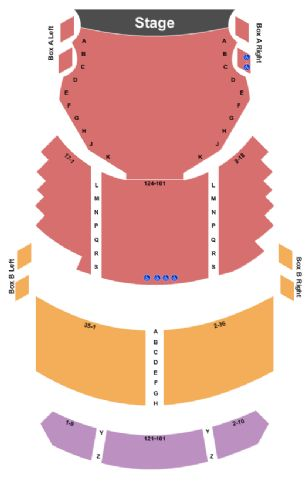 fulton opera house tickets and fulton opera house seating chart
