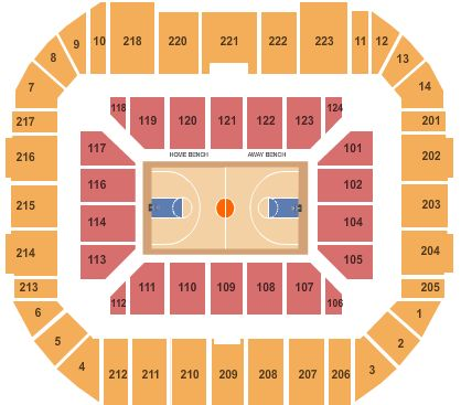 Gampel Pavilion Tickets And Gampel Pavilion Seating Chart