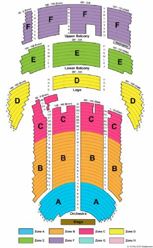 Genesee theatre tickets and genesee theatre seating chart buy