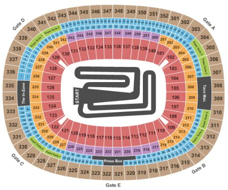 Georgia Dome Seating Map Georgia Dome Tickets and Georgia Dome Seating Chart   Buy Georgia
