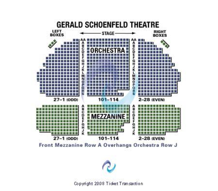 Gerald Schoenfeld Theatre Tickets And Gerald Schoenfeld Theatre