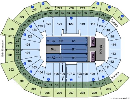 Tickets And Giant Center Seating Chart