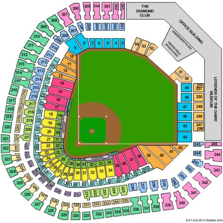 Globe life park tickets and globe life park seating chart buy