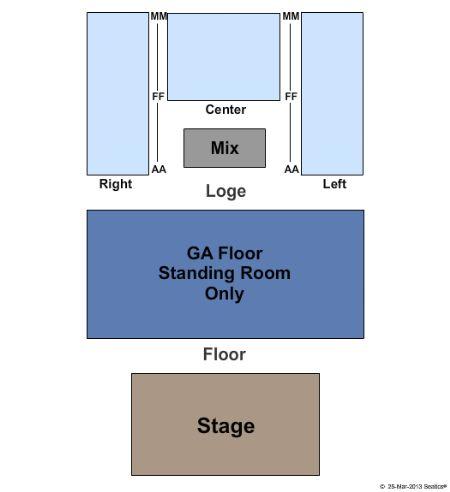 Gramercy theater seating chart ga the fillmore detroit detroit