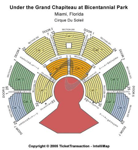 Grand Chapiteau At Bicentennial Park Tickets And Grand Chapiteau At
